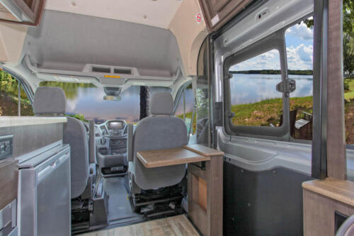 Four Seasons RV Rentals - Van Conversion   Entrance