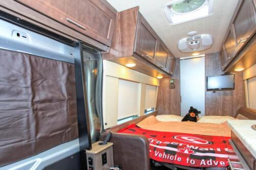 Four Seasons RV Rentals - Van Conversion   Bed