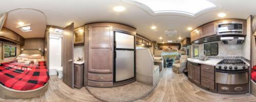 Four Seasons RV Rentals - Class C Large | Panoramic View