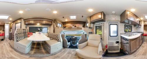 Four Seasons RV Rentals - Class C X-Large Motorhome | Panoramic View