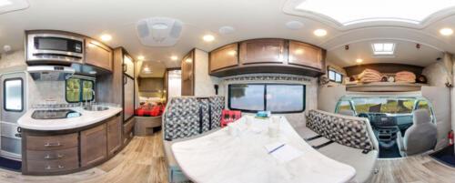 Four Seasons RV Rentals - Class C Medium Motorhome | Panoramic
