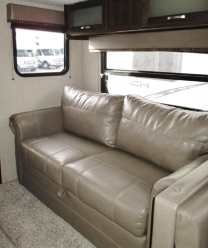 Four Seasons RV Rentals - Travel Trailer 27' | Couch