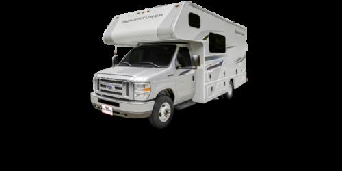 Four Seasons RV Rentals - Class C Medium Motorhome | Driver's Side Exterior