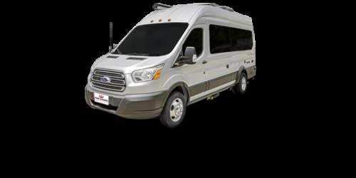 Four Seasons RV Rentals - Van Conversion   Driver's Side Exterior